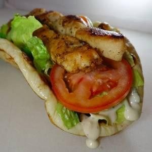 Chicken Caesar Sandwich from Parthenon Gyros in Madison, WI