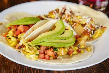 Breakfast Tacos from Pasqual's Cantina - East Wash in Madison, WI