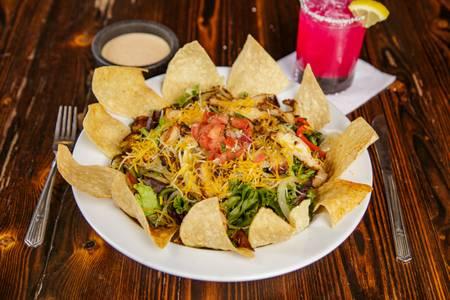 Fajita Taco Salad from Pasqual's Cantina - East Wash in Madison, WI