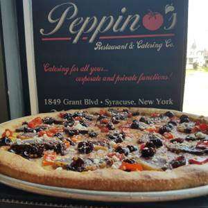 Pie of the Month from Peppino's Pizzeria - Grant Blvd in Syracuse, NY