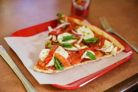 Caprese Pizza from Pizza Di Roma in Madison, WI