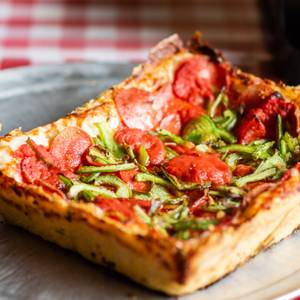 Detroit Style Pizza from Pizza Shuttle in Milwaukee, WI