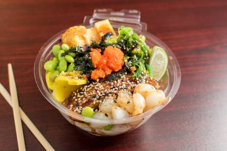 Nami Poke Bowl from Poke Poke in Madison, WI