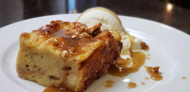 Bread Pudding from Powercat Sports Grill in Manhattan, KS