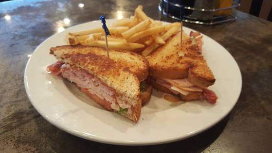 Clubhouse Sandwich from Powercat Sports Grill in Manhattan, KS