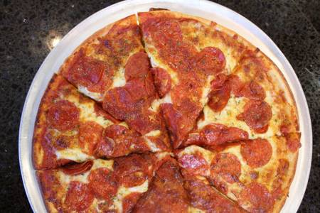Extreme Pepperoni Family Pizza from Powercat Sports Grill in Manhattan, KS
