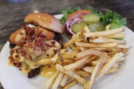 Mac Daddy Burger from Powercat Sports Grill in Manhattan, KS