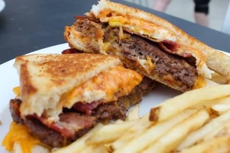 Powercat Patty Melt Burger from Powercat Sports Grill - Manhattan in Manhattan, KS