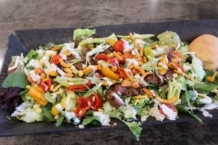 Southwest Steak Salad from Powercat Sports Grill - Manhattan in Manhattan, KS