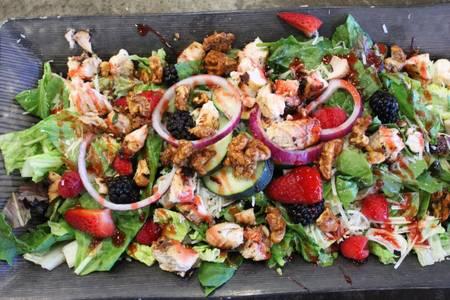 Wildberry Walnut Chicken Salad from Powercat Sports Grill in Manhattan, KS