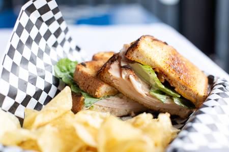 McQuinton Sandwich from Quinton's  Bar & Deli in Lawrence, KS