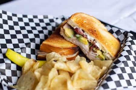TAC Sandwich from Quinton's  Bar & Deli in Lawrence, KS