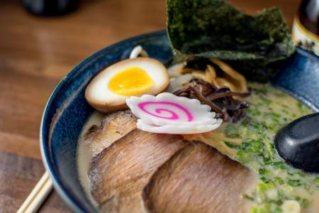Tonkotsu Ramen from Ramen Station in Madison, WI