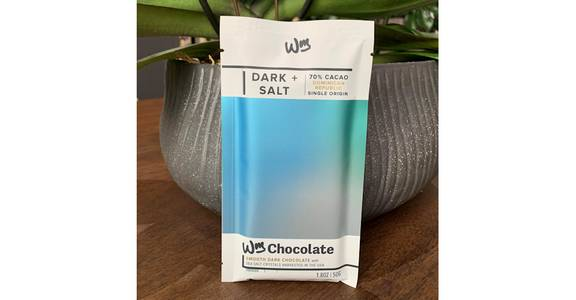 Dark + Salt Chocolate Bar from Red Square Flowers in Madison, WI
