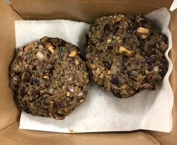 Black Bean Burgers Meal Kit from Relish+Roots in Neenah, WI