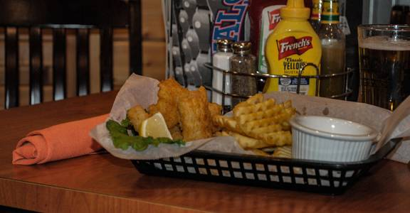 Friday Fish Fry Specials   Fried Cod Basket from Rivals Sports Pub & Grille in Kenosha, WI