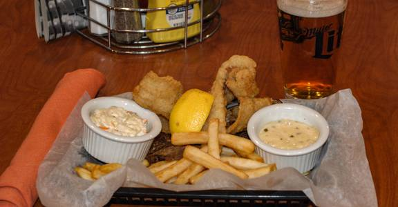 Friday Fish Fry Specials   Perch from Rivals Sports Pub & Grille in Kenosha, WI