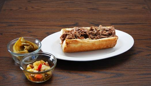 Italian Beef Sandwich from Rosati's Pizza - DeKalb in Dekalb, IL