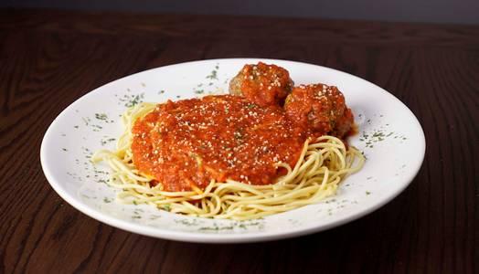 Spaghetti & Meatballs from Rosati's Pizza - DeKalb in Dekalb, IL