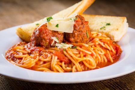 Spaghetti & Meatballs from Rosati's Pizza - Peoria in Peoria, AZ