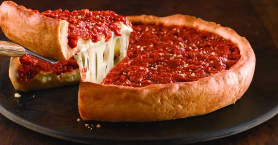 Chicago Style Deep Dish Pizza from Rosati's Pizza - South Loop in Chicago, IL