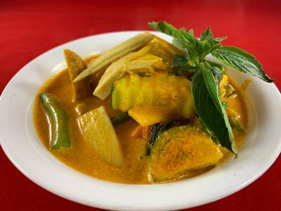 43B. Jungle Curry from Sa-Bai Thong - University Ave in Madison, WI