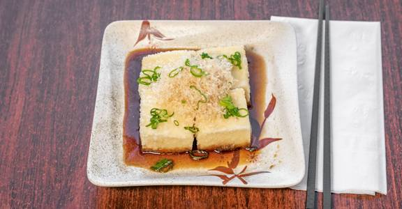 Agedashi Tofu from Sakura Sushi in San Rafael, CA