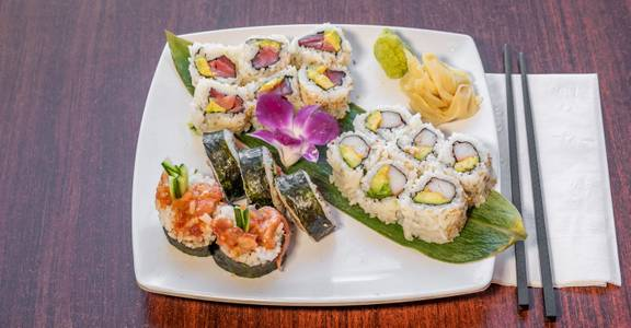 Any 3 Rolls (Lunch) from Sakura Sushi in San Rafael, CA