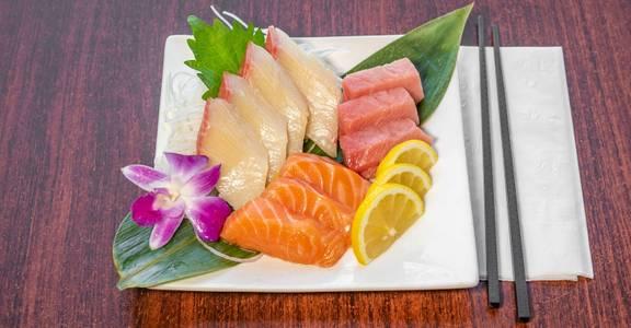 Sashimi Combo from Sakura Sushi in San Rafael, CA