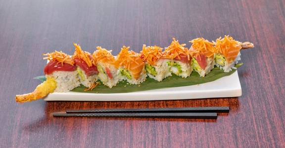 Titanic Roll from Sakura Sushi in San Rafael, CA