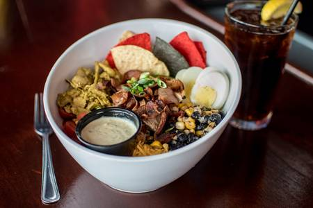 Southwest Cobb Salad or Wrap from SCONNIEBAR in Madison, WI