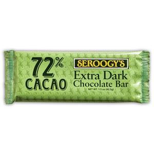 Extra Dark Chocolate Candy Bar, 1.50 oz. from Seroogy's Chocolates in Green Bay, WI