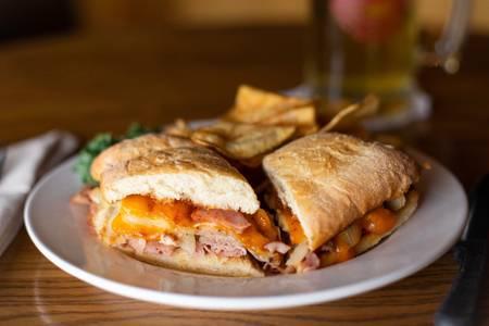 Jack's Stack Sandwich from Set'em Up Jacks in Lawrence, KS