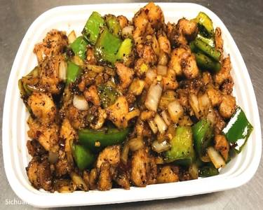 Black Pepper with Chicken from Sichuan Taste in Cockeysville, MD