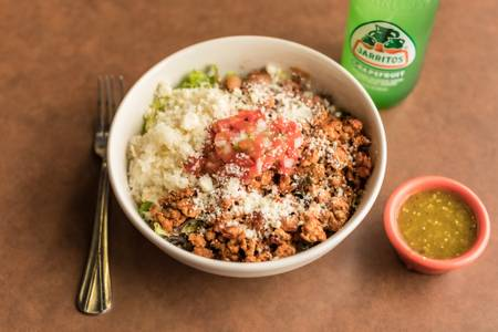 Burrito Bowl from Silly Serrano Mexican Restaurant in Eau Claire, WI