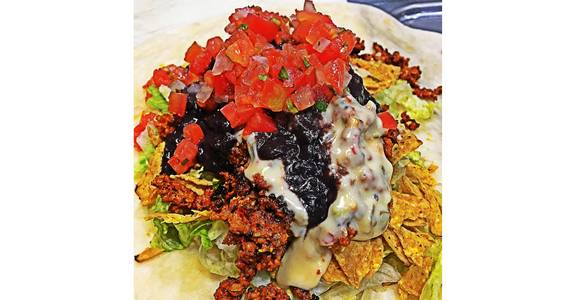 Nacho Burrito from Silly Serrano Mexican Restaurant in Eau Claire, WI