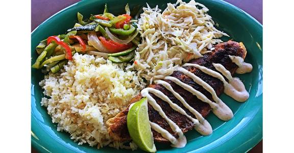 Walleye Fish Special from Silly Serrano Mexican Restaurant in Eau Claire, WI