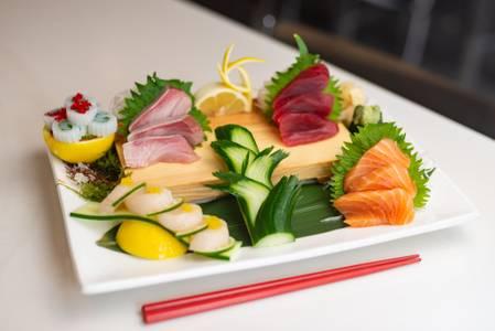 Small Sashimi Plate from Slurping Turtle in Ann Arbor, MI