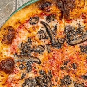 Mushroom Pizza from SPIN! Pizza in Lawrence, KS