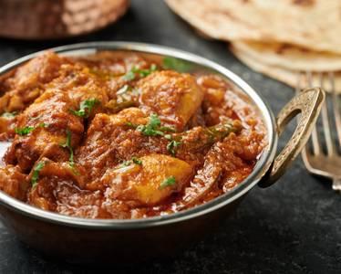 Chicken Dopiaza (GF) Dinner from Star Of India Tandoori Restaurant in Los Angeles, CA