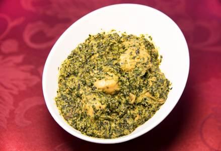 Chicken Saag (Dinner) from Star Of India Tandoori Restaurant in Los Angeles, CA
