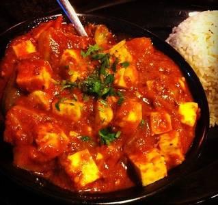 Dinner Paneer Vindaloo (GF) from Star Of India Tandoori Restaurant in Los Angeles, CA