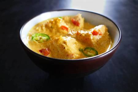Dinner Salmon Korma (GF) from Star Of India Tandoori Restaurant in Los Angeles, CA