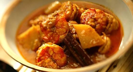 Dinner Shrimp Vindaloo (GF) from Star Of India Tandoori Restaurant in Los Angeles, CA