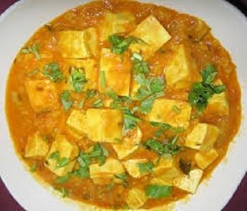 Dinner Tofu Korma (GF) from Star Of India Tandoori Restaurant in Los Angeles, CA