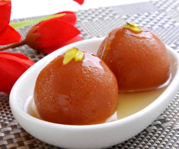 Gulab Jamun - 2 Pieces from Star Of India Tandoori Restaurant in Los Angeles, CA