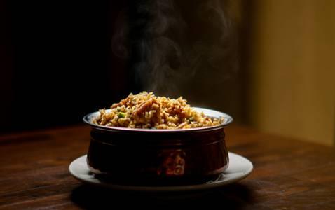 Lamb Biryani from Star Of India Tandoori Restaurant in Los Angeles, CA