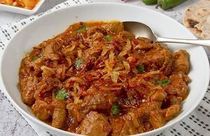 Lamb Dopiaza (Lunch) from Star Of India Tandoori Restaurant in Los Angeles, CA