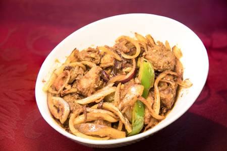 Lamb Karhai (Lunch) from Star Of India Tandoori Restaurant in Los Angeles, CA