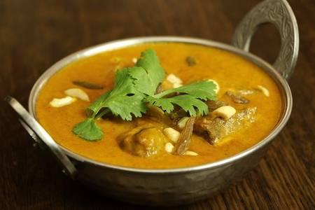 Lamb Korma (Lunch) from Star Of India Tandoori Restaurant in Los Angeles, CA